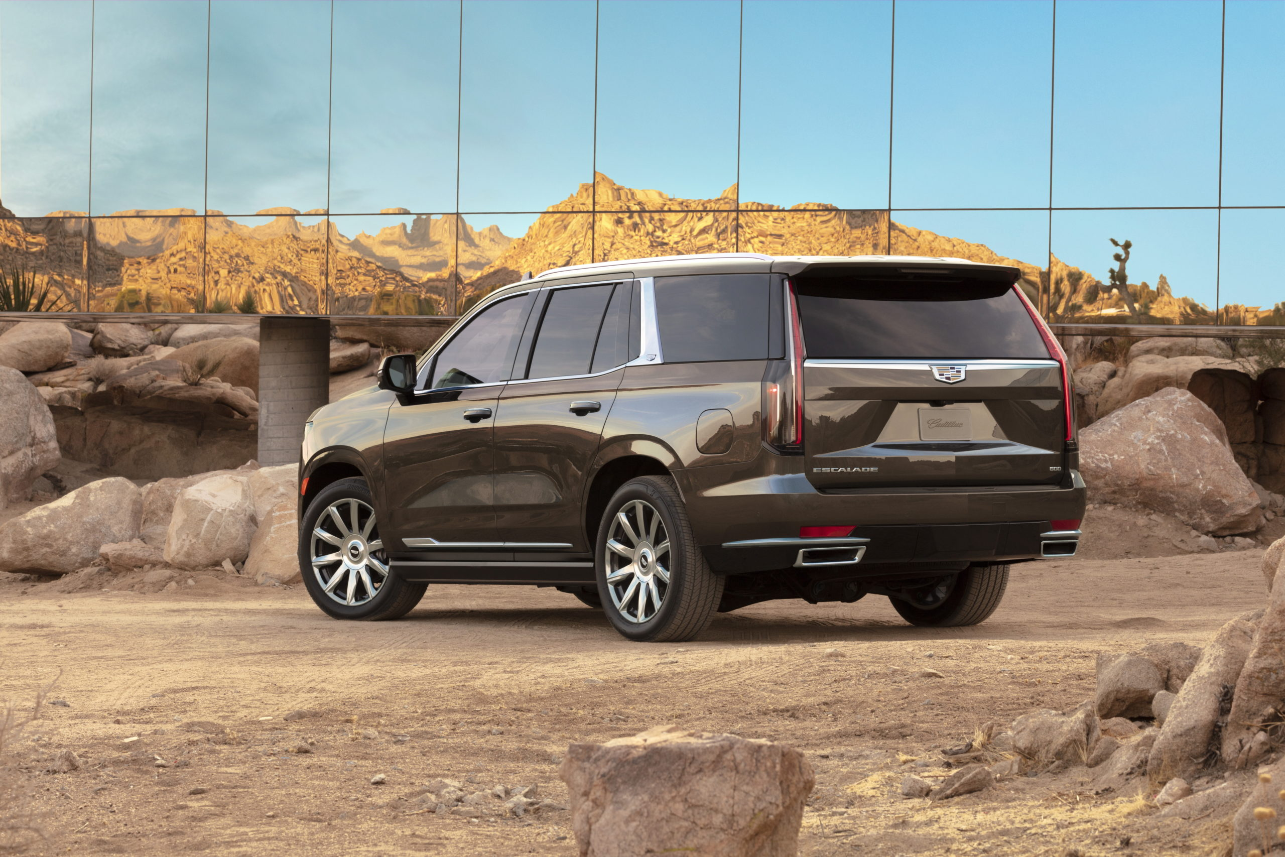 The 2021 Escalade has the bold presence and exclusive technology